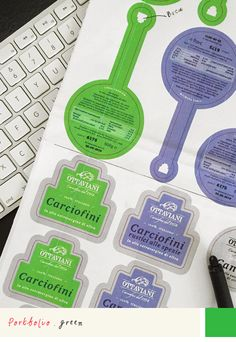 Portfolio: when blueprints comes… #virr #green #myjob #Ilovemyjob #blueprint #graphic #design #project #work #creativity #label #food #packaging #imac # apple #print #cyan #cmyk #pantone #fedrigoni #carciofi #artichockes