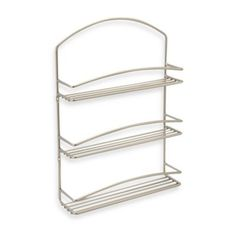 Spectrum® 3-tier Euro Wall Mount Spice Rack