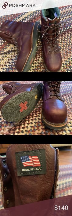 159465292d9 Working Persons Boot Sz 12D All leather