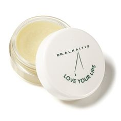 "DR. ALKAITIS - Organic Lip Treatment ""Love Your Lips"", $35.00 (http://www.alkaitis.com/organic-lip-treatment-love-your-lips/)"