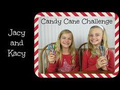 Candy Cane Challenge ~ Jacy and Kacy