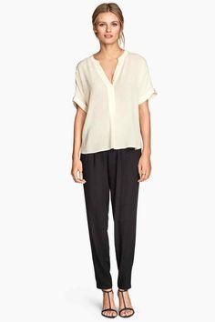 Pantaloni in tessuto | H&M