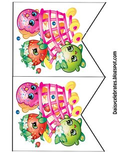 Shopkins PartyBanner  http://daisycelebrates.blogspot.com/2016/01/free-shopkins-birthday-party-printables.html?view=classic