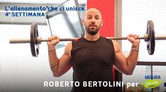 Roberto vi mostrerà come tornare in forma in 6 settimane: per lei, per lui, per tutti! Week 4  https://www.youtube.com/watch?v=Cel6dOXCL9M