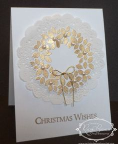 Wondrous Wreath - Stampin' Up!