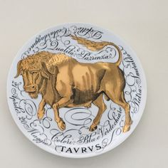 Fornasetti Zodiac Taurus www.collectables.at
