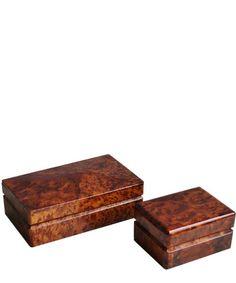 Thuya Wood Storage Box