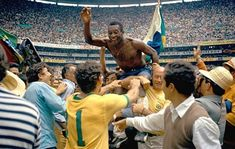 World cup moment #2 Mexico bares witness to one of the greatest teams ever. 1970 brazil with their ultimate display of joga bonito win the world cup with pele at his finest ending his international career as a legend and as one of the greatest to ever do it winning the world cup for a third time. #brazil #mexico70 #fifaworldcup #worldcup2018 #russia2018 #messi #ronaldo #cristianoronaldo #neymar #pele #likeforlike #followforfollow #lionelmessi