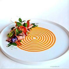 The Art of Plating L'art de dresser et présenter une assiette comme un chef de la gastronomie... > http://visionsgourmandes.com > http://www.facebook.com/VisionsGourmandes