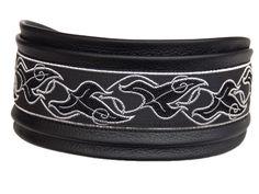 Windhundhalsband elfe schwarz Hundehalsband dog Collar Windhund Greyhound Galgo