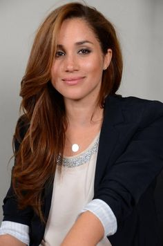 Meghan Markle - this pale actress is the daughter of an African American mother and a Dutch/Irish father.