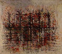 Sem Título 1951   Antonio Bandeira óleo sobre papelão, c.i.d. 46.20 x 55.60 cm