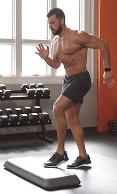 Then try this devious workout from Men's Health Fitness Director BJ Gaddour. Men's Health Fitness, Planet Fitness Workout, Muscle Fitness, Men Health, Gain Muscle, Muscle Men, Build Muscle, Fitness Tips For Men, Mens Fitness
