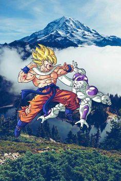 Goku ssj Vs. Frezer