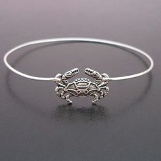 Little Crab Bracelet Beach Jewelry Silver Crab by FrostedWillow, $17.95