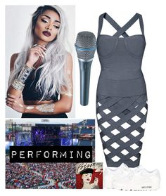 """""""177->Performing"""" by dimibra ❤ liked on Polyvore featuring Posh Girl and NIKE"""