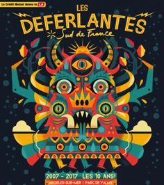 Festival Les Deferlantes à Argeles sur mer - Les 10 ans en 2017