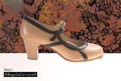 https://www.tamaraflamenco.com/es/zapatos-de-flamenco-profesionales-4 Zapato profesional de flamenco Begoña Cervera Modelo Arco I piel camel