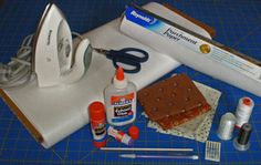 """The applique supplies you'll need to create the """"look"""" of hand applique, but done by machine, are very basic."""