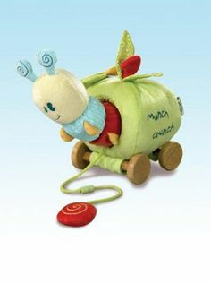 Another totally adorable toy from UK company Little Bird Told Me. Little Diva, Nursery Furniture, Baby Accessories, Caterpillar, Cribs, Baby Gifts, Activities, Christmas Ornaments, Toys