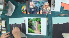 Ginger Teaches Jon to Paint Episode 5 - Jon takes on a Garden Gate