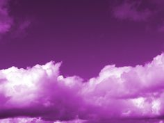 Clouds In Purple Sky 3