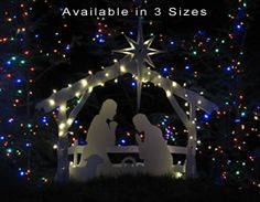 I love our quality nativity set from mynativity.com!