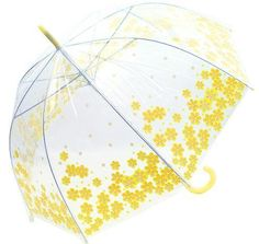 GIRLS,WOMENS WHOOPS A DAISY DOME UMBRELLA PINK & YELLOW DESIGN   eBay