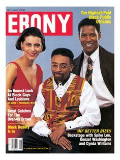 Ebony Magazine, September 1990 Mo Betta Blues