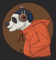 A chill panda Donald Duck, Panda, Chill, Disney Characters, Fictional Characters, Art, Art Background, Kunst, Performing Arts
