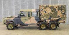 Australian army 6x6 LR Defender Perentie Crew Cab