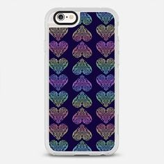 Rainbow Hearts 4 U - a cool #phonecase that is perfect for #valentines and any other day you want to show your #love