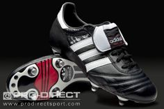 adidas World Cup - Soccer Shoes - Soft Ground - Black / White