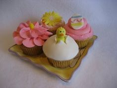 I've the task of Easter cupcakes - hmmm...how hard would these be??