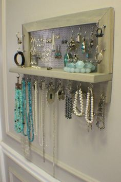 20 Amazing And Totally Useful DIY Jewelry Organizers - Top Inspirations