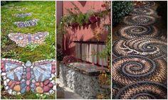 16 fantasztikus ötlet, hogy mi minden készülhet kőből és kavicsból a kertben! – morzsaFARM