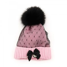Capocubo Cappello con rete Girls Accessories, Winter Hats, Fashion, Headscarves, Moda, Fashion Styles, Fashion Illustrations