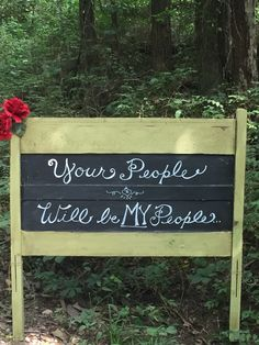 Chalkboard Signage ~ Bemies Wedding ~ Moore Farms Rustic Weddings and Event Barns
