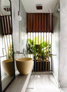 #bathroom #concrete