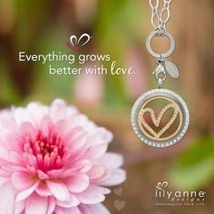 {Everything grows better with love} Happy Tuesday everyone! Thumbs up for #SPRING #LilyAnneDesigns #PersonalisedLockets #CapturingMoments #FreeToBeMe