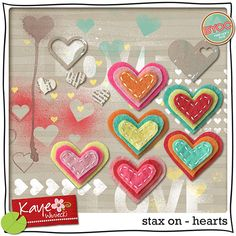 stax on - hearts