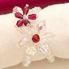 Es un servilletero.... pero cómo pulsera?/Is a beaded Napkin Rings, could be a bracelet?