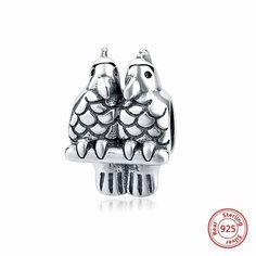 charms pandora pappagallo