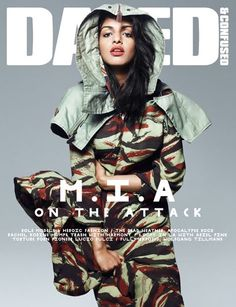 M.I.A. (By Rankin for Dazed & Confused, 2010)