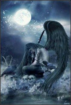 Dark fallen angel angels
