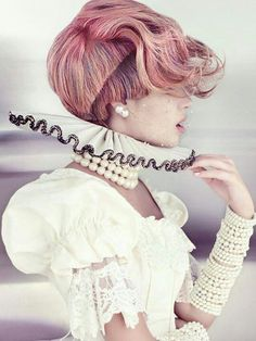 Fantasy hair /avant garde