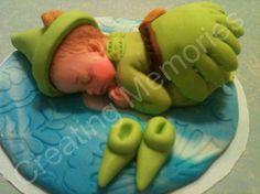 Peter Pan/Edible Cake Toppers Made of Vanilla Fondant by anafeke, $17.00