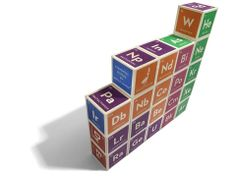 Uncle Goose Periodic Table Building Blocks for Geeky Babies
