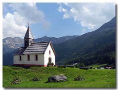 The little Church of Kurzras / Maso Corto. by Karl Demetz, Bolzano Daily Photo