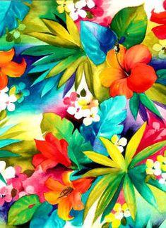 Flower Backgrounds, Wallpaper Backgrounds, Iphone Wallpaper, Motif Floral, Floral Prints, Art Prints, Summer Wallpaper, Flower Wallpaper, Pichwai Paintings